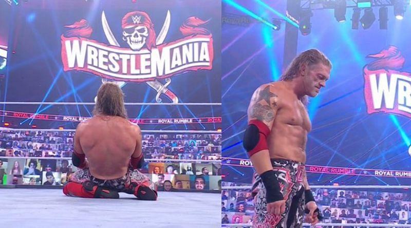 ऐज ने जीता मैंस Royal Rumble मैच