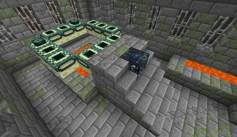 Strongholds contain great loot and are required in order to beat Minecraft