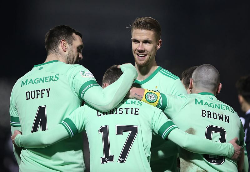 Celtic thrashed St. Mirren in their most recent fixture