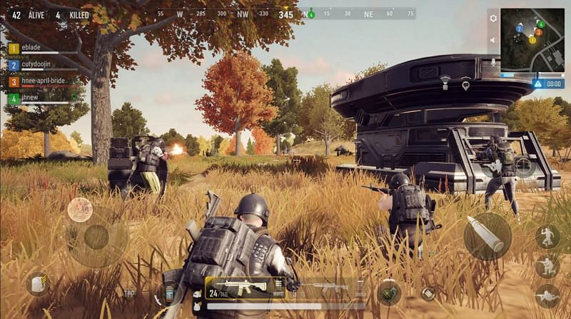 Krafton Inc released the trailer for PUBG Mobile New State today (Image via Google Play Store)