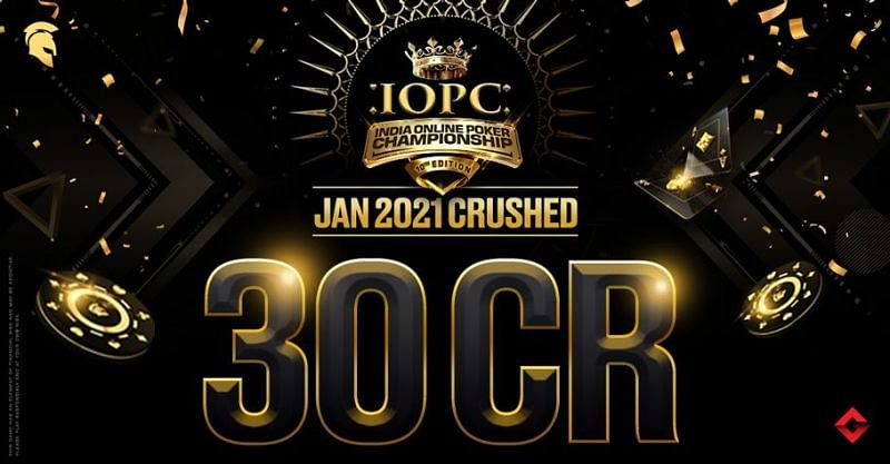 IOPC Poker January 2021 was held online and enthralled aspiring and professional Poker Players.