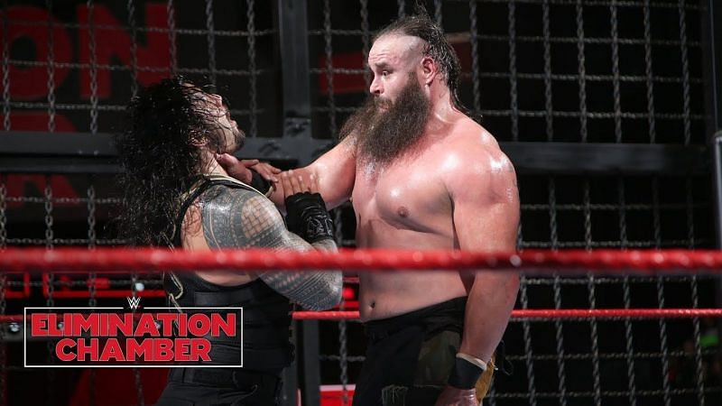 Braun Stroman had a dominant showing at WWE Elimination Chamber 2018