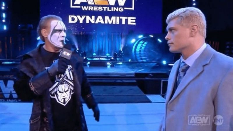 Cody Rhodes wants a match against Sting in AEW.