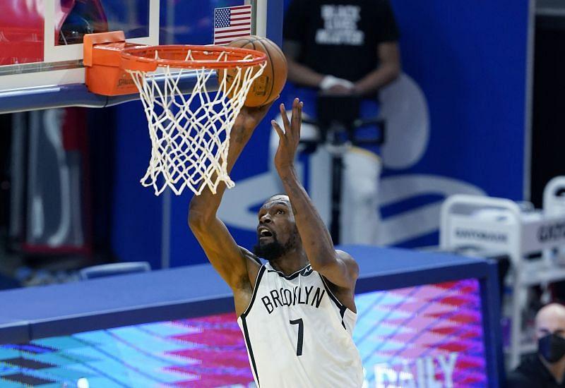 Brooklyn Nets forward Kevin Durant
