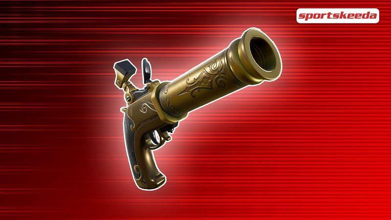 Epic has unvaulted the Flintlock Pistol in Fortnite (Image via Sportskeeda)