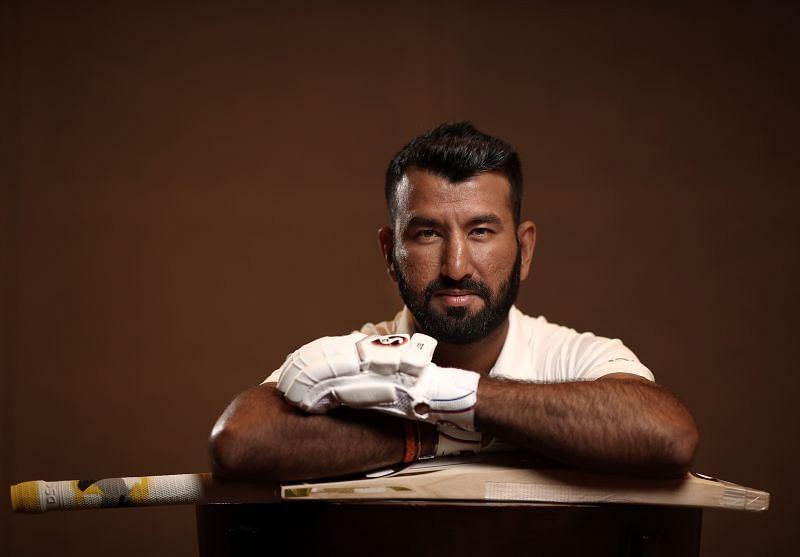 Cheteshwar Pujara scored his first Test double hundred against England