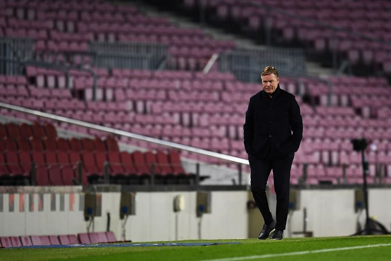 Barcelona manager Ronald Koeman has insisted that he will not leave the club despite their heavy defeat to PSG