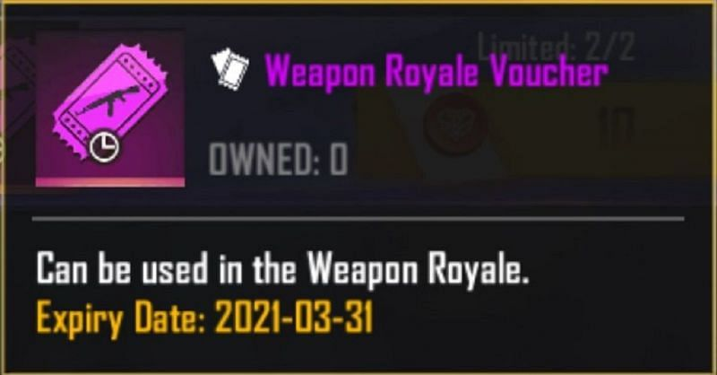 Weapon Royale Voucher