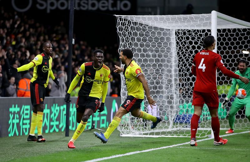 Ismaila Sarr scored a brace for Watford in a gruesome 3-0 win over Liverpool in 2019