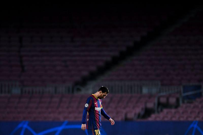 FC Barcelona v Paris Saint-Germain - UEFA Champions League Round Of 16 Leg One
