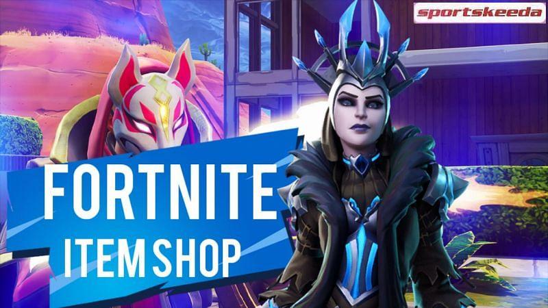 Fortnite Item Shop update brings the Ice Queen to Season 5 (Image via Sportskeeda)