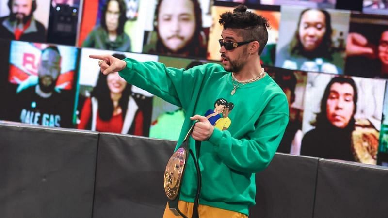Puerto Rican rapper Bad Bunny is an integral part of WWE at this time