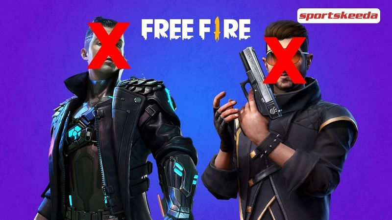 A look at some of the most suitable characters in Free fire (Image via Sportskeeda)