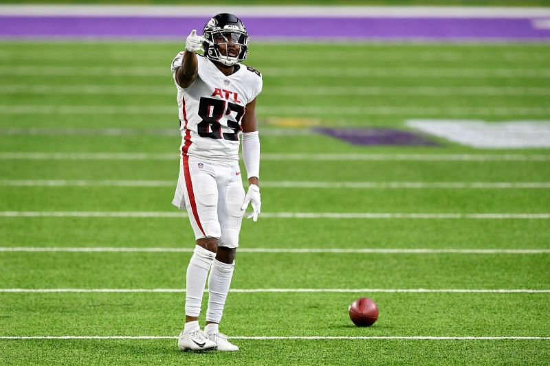 Atlanta Falcons WR Russell Gage