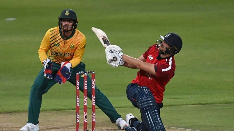 Dawid Malan was left stranded on 99* vs South Africa