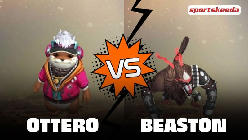 There are a wide variety of pets available in Garena Free Fire (Image via Sportskeeda)