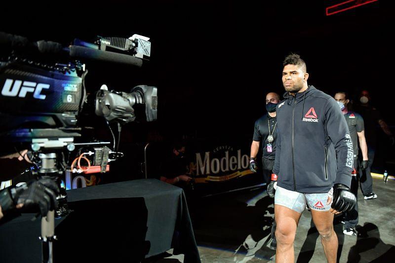 UFC heavyweight Alistair Overeem