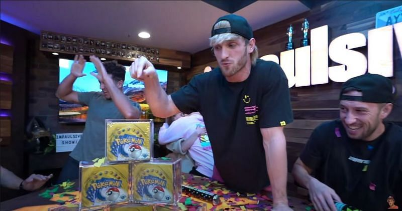 Logan Paul has announced an auction for first-generation Pokemon card boxes