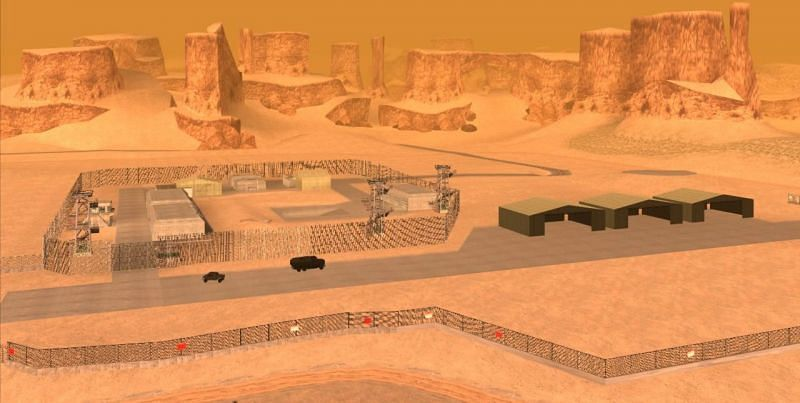 There is a lot of mystery surrounding GTA San Andreas's Area 69 (Image via Grand Theft Wiki)