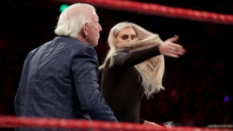 Charlotte slapped her own father