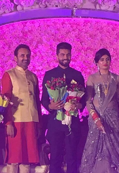 Ravindra Jadeja's Wedding Photos