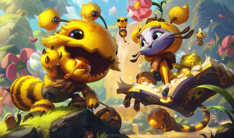 """But What If They Were Bees"" (Image via Riot Games - League of Legends)"