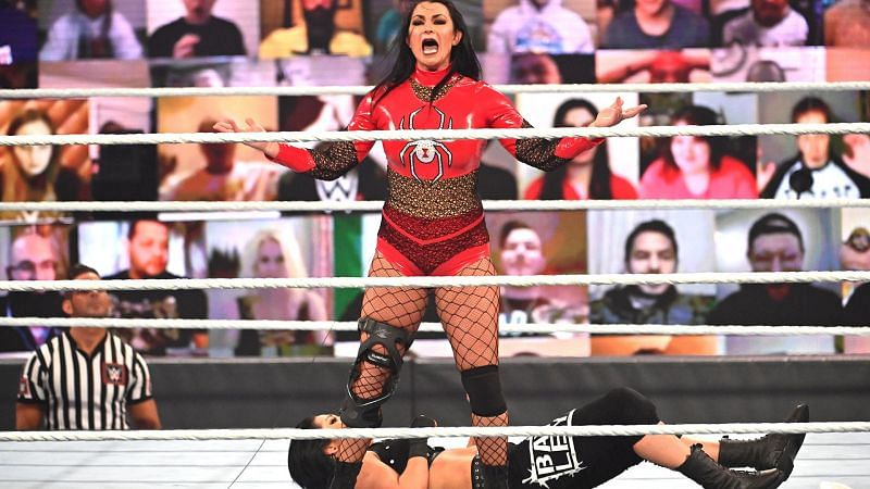 Victoria was a surprise Royal Rumble entrant