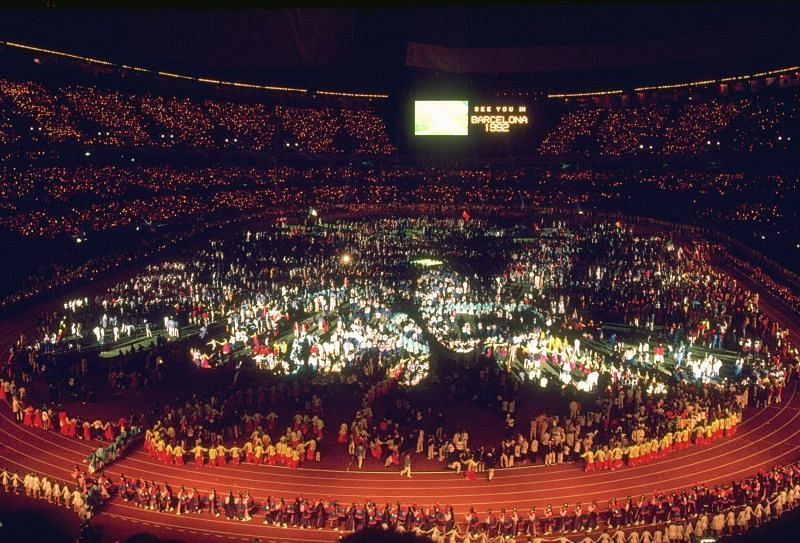1988 Olympic Games Closing Ceremony
