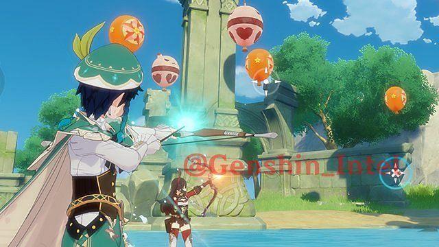 Bullseye Balloons minigame in Genshin Impact (Image via Genshin Intel)