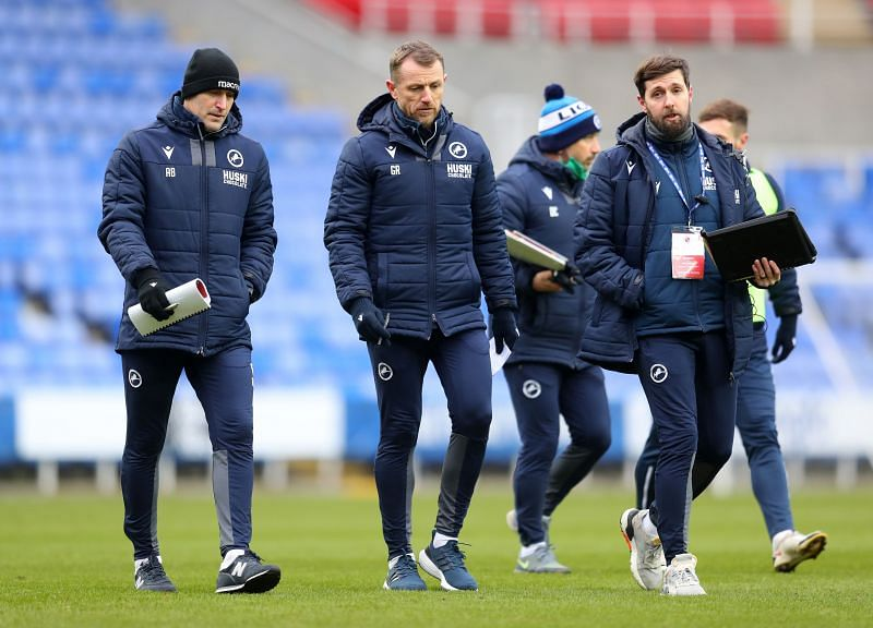 Gary Rowett will lead Millwall out against Wycombe Wanderers