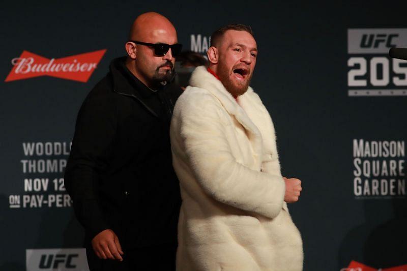 Conor McGregor at UFC 205 press conference