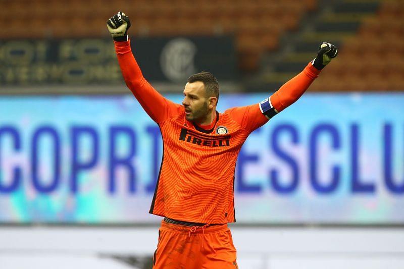 Samir Handanovic produced some remarkable saves tonight.