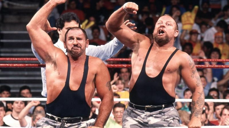 The Bushwhackers are WWE Hall of Famers