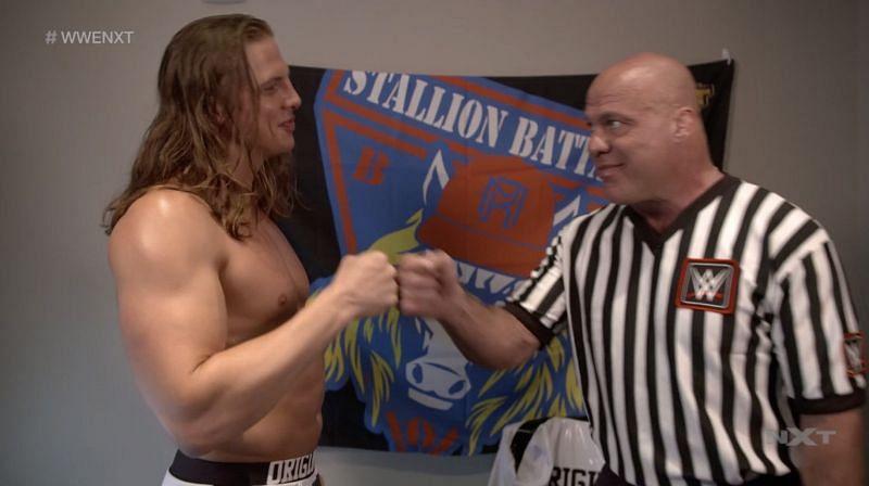 Matt Riddle and Kurt Angle