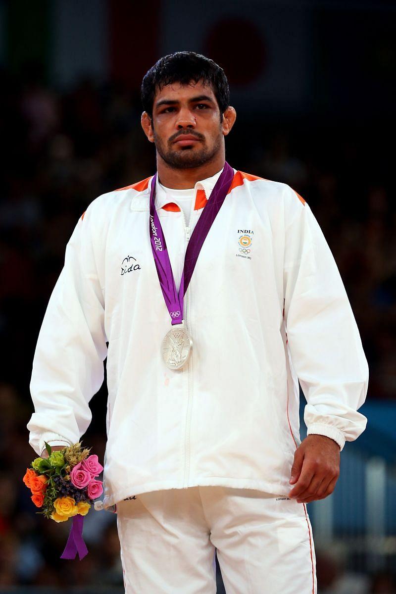 Sushil Kumar- Silver medal at 2012 London Olympics