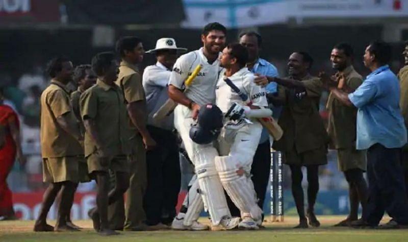 Sachin Tendulkar and Yuvraj Singh powered Team India home in a tall chase.