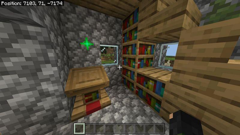 Minecraft Bookshelf