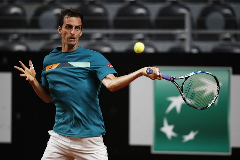 Albert Ramos-Vinolas has a heavy top-spin game