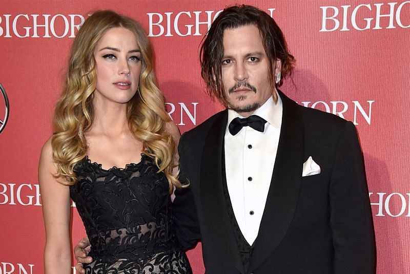 Amber Heard with former partner Johnny Depp (Image via The Jakarta Post)