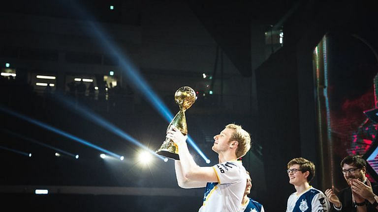 Jankos with the LEC Champions