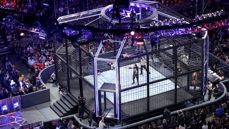 After nine years, WWE has two Elimination Chamber matches fought for World Titles.