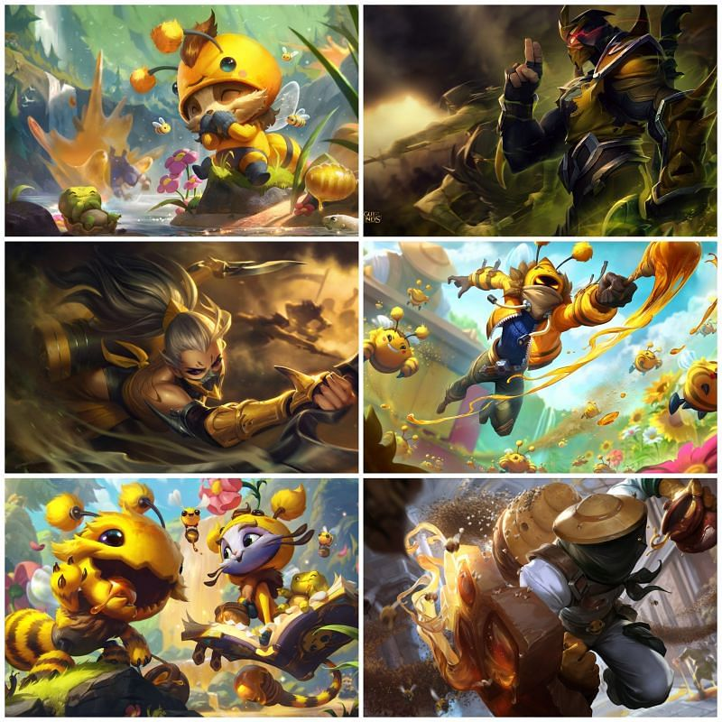 The League of Legends Bee-Team (Image via Riot Games - League of Legends)
