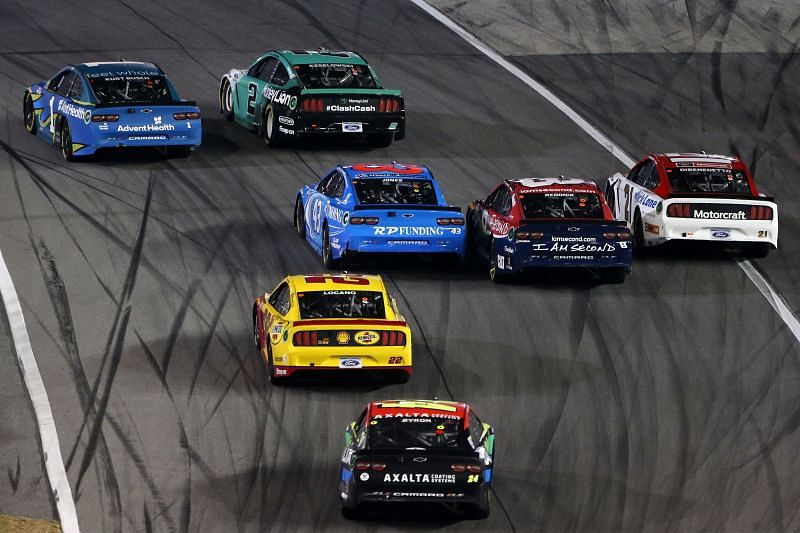 The Busch Clash on the Daytona Road Course. Photo/Getty Images