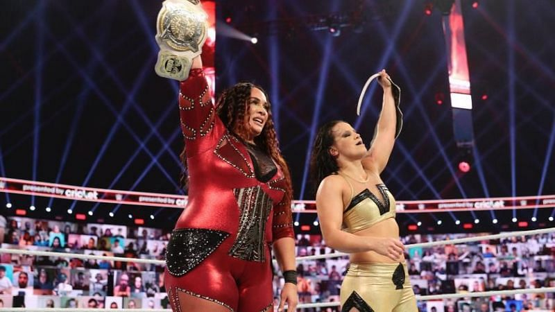 Baszler and Jax are in their second reign with the title