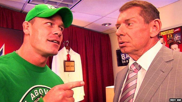 John Cena/ Vince McMahon