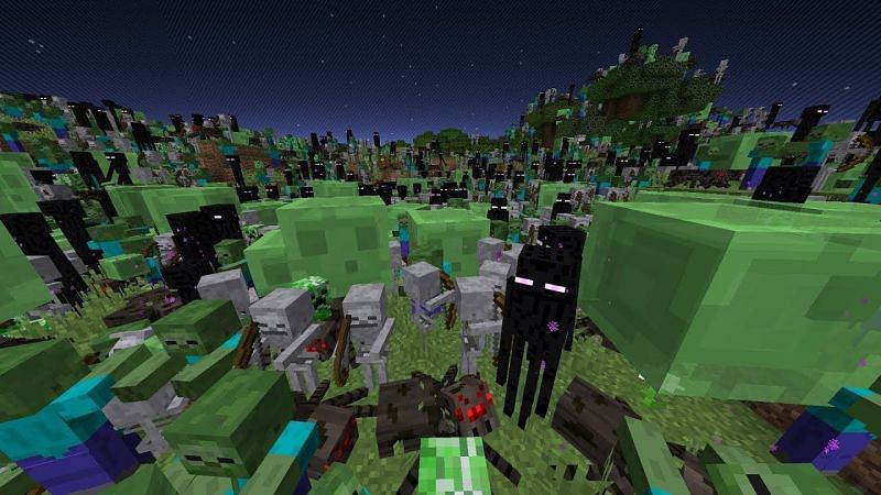 There are a few techniques that Minecraft players can follow to ensure that they are safe inside and outside their base (Image via Minecraft)