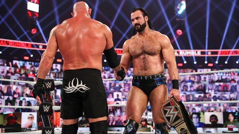 क्या ड्रू मैकइंटायर vs गोल्डबर्ग WrestleMania 37 से पहले हील टर्न ले सकते हैं?