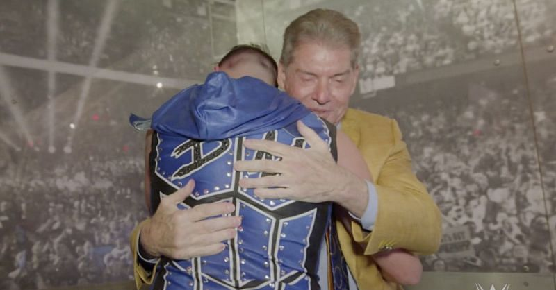 The moment that Dominik Mysterio made Vince McMahon a fan.