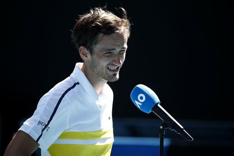Daniil Medvedev has heaped praise on Roger Federer, Novak Djokovic and Rafael Nadal