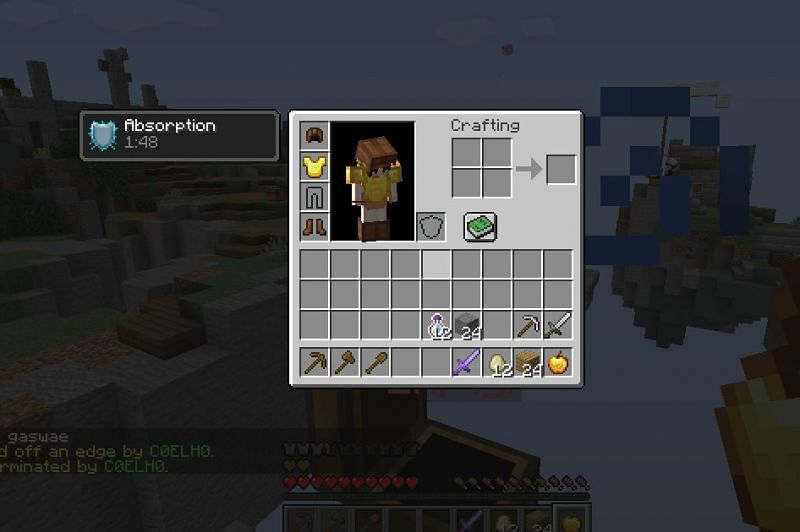 Solo skywars game on Hypixel - Image via Minecraft
